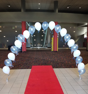 String Balloon Arches by Jessica's Balloons in Arvada, Colorado