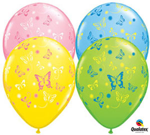 Butterfly 11 inch Latex Balloon