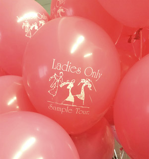 Custom Printed Balloons by Jessica's Balloons in Arvada, Colorado