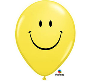 Smilie 11 inch Latex Balloon